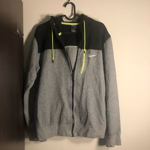 Nike hoodie with zipper